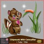 Chipmunk With Caterpillar CU