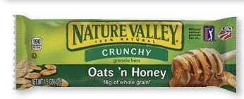 nv Free Nature Valley Granola Bar for Pillsbury Members