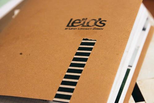 Notizbuch Le'Lo's neu gebunden