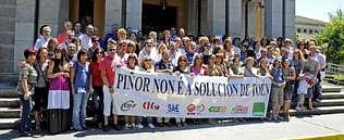 El cierre estival del hospital de Piñor avanza su reestructuración