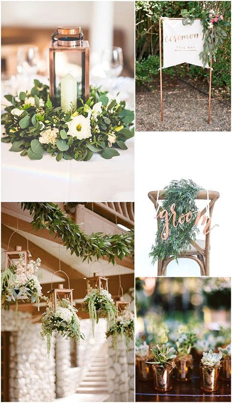 Ideas and Inspiration for your Copper Theme Wedding   Boho