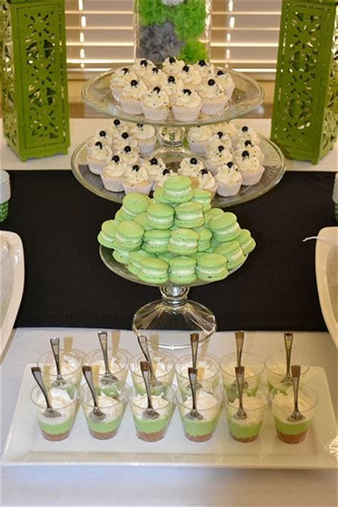 17 Best images about Black green and white party ideas on