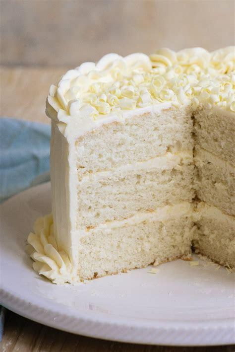 White Wedding Cake   Recipe Girl