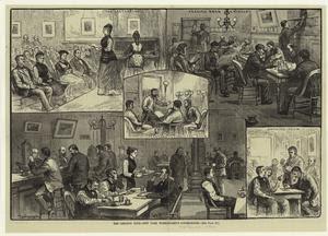 The Lebanon Club -- New York w... Digital ID: 801162. New York Public Library