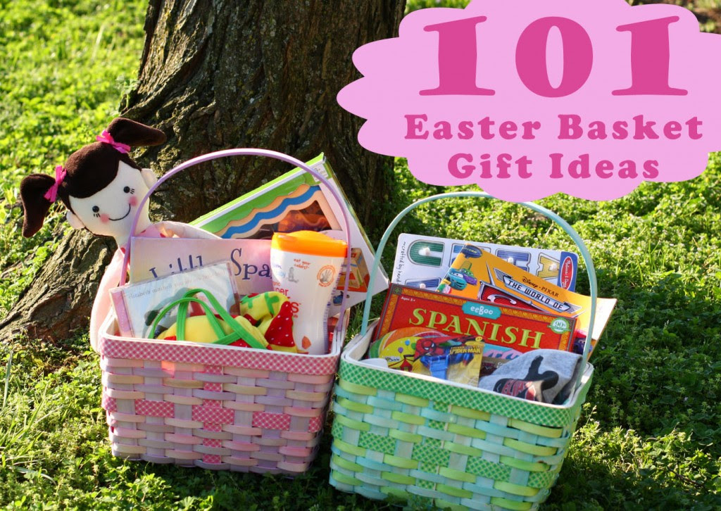 101 Kids Easter Basket Gift Ideas