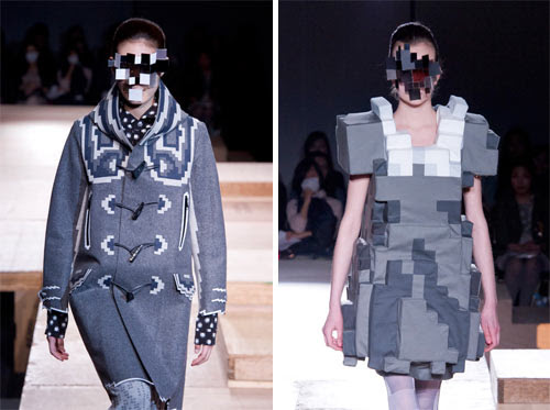 Pixel Fashion by Kunihiko Morinaga for Anrealage