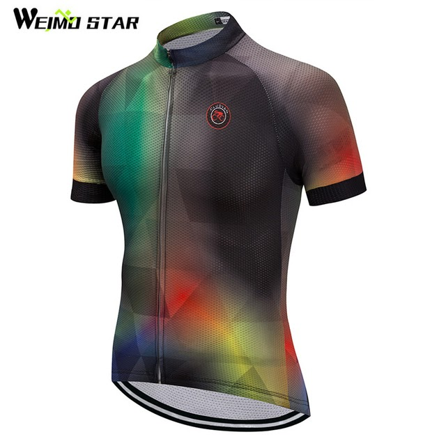 Clothing Bike Sportwear  Online Weimostar 2018 Cycling Jersey Racing Sport Bicycle  Clothing Breathable Cycling Wear Clothes Short Sleeve mtb Bike Jersey ... 08e6acec6