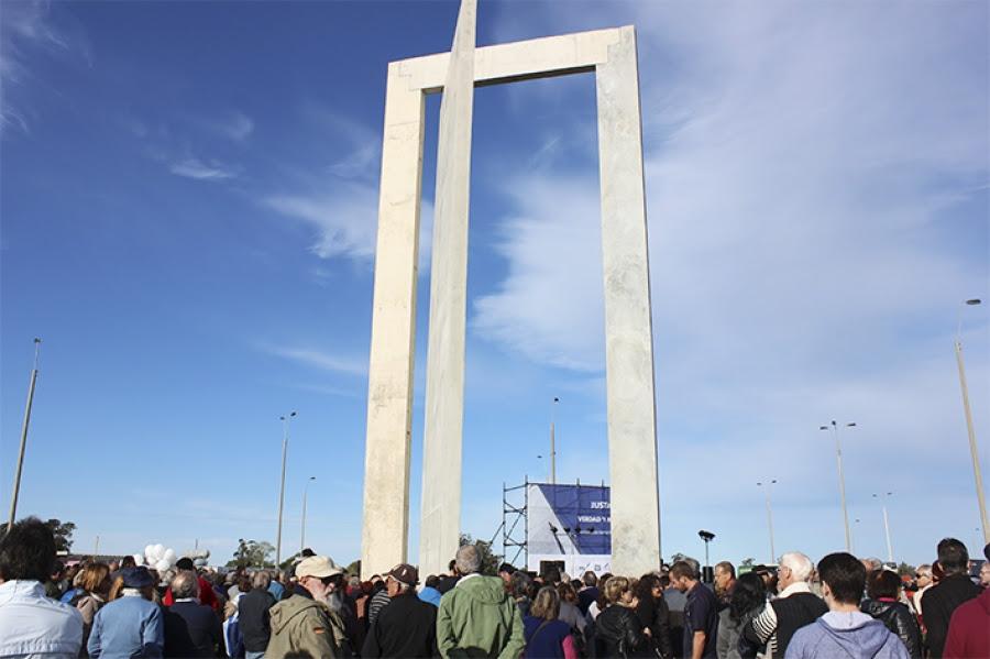 Se inauguró el memorial del Penal de Libertad