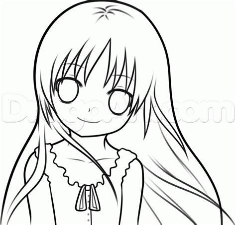 step    draw  anime kid