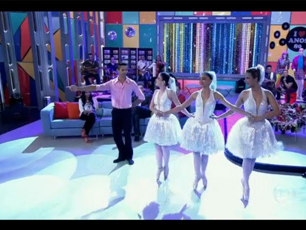 Deficientes visuais arrasam no balé (Foto: Encontro com Fátima Bernardes/TV Globo)