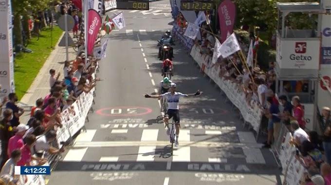Nizzolo overtreft zichzelf in het Baskenland en wint Circuito de Getxo