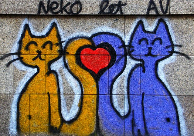 GRAFFITI CATS