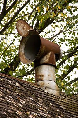 Vent on Abandoned Tobacco Barn, Vernon County, Wisconsin