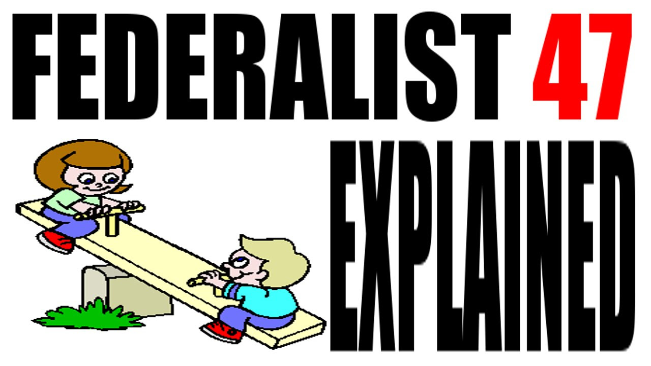 write a short essay summarizing the debate between federalists