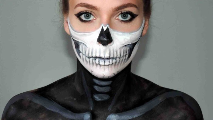 80 Spooky Halloween Face Paint Suggestions With Tutorials