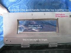 Oven Door Construction