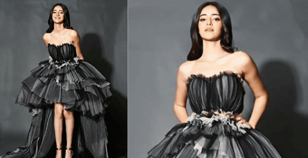 Ananya Panday Appears In The Hues Of Black And Grey, Looks Stunning