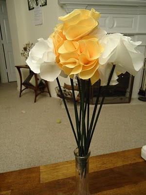 A Surprise for The Ladies: Part Two  :  wedding atlanta diy flowers reception tutorial 5 5