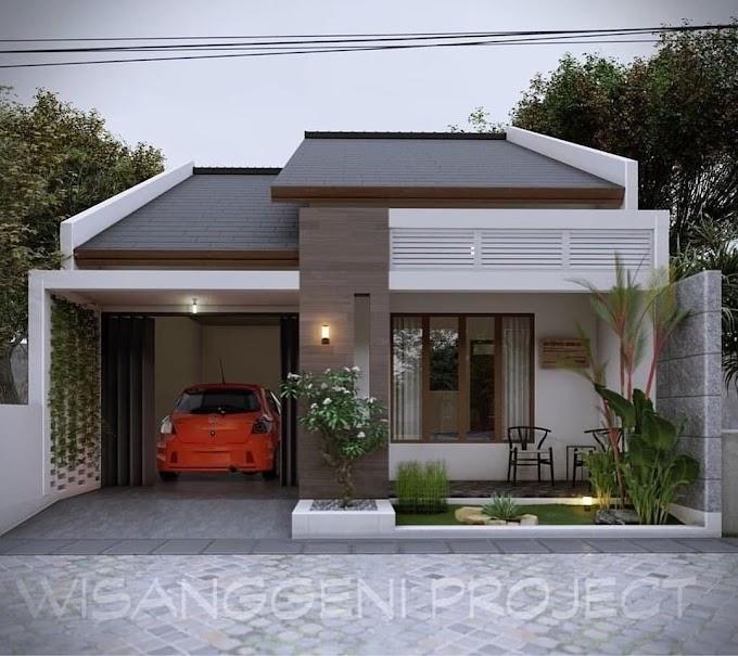 Desain Rumah Minimalis 8x10 | Ide Rumah Minimalis
