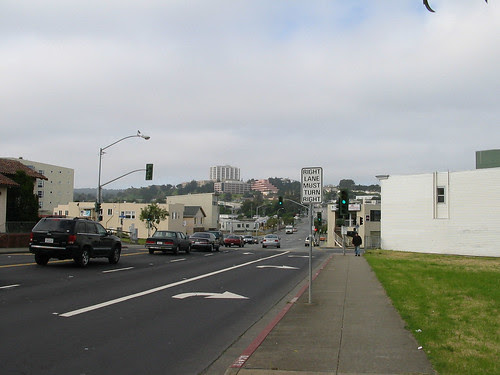 Toward Freeway- Seton Background