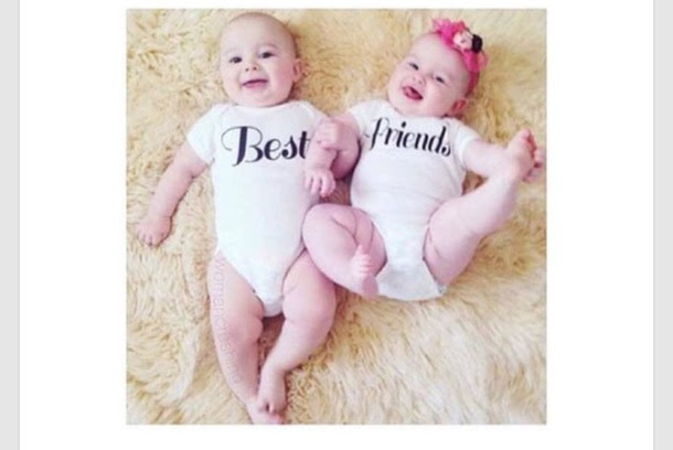 Tank Top Baby Kid Bff Bff Bff Cute Lovely Baby Shower Baby