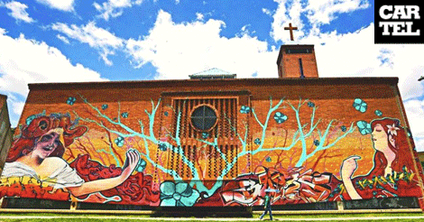 Murales Mas Grandes De Bogota Cartel Urbano