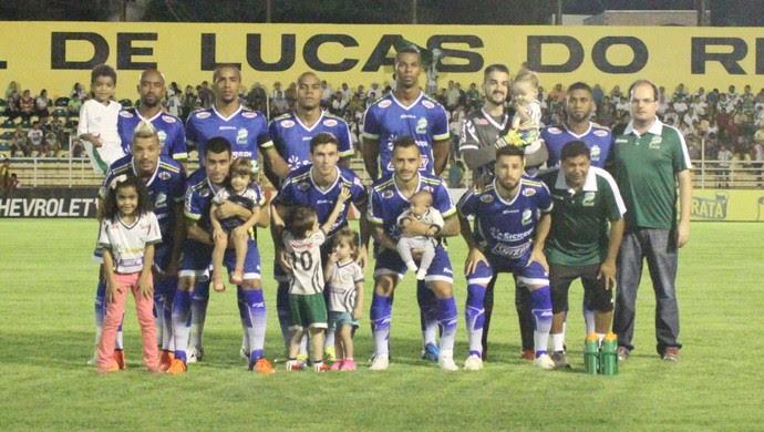 Luverdense, Série B 2016 (Foto: Pedro Coelho/Luverdense EC)