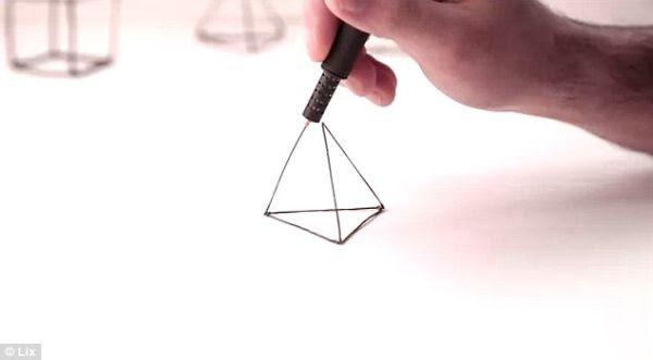 Pena 3D buatan perusahaan Lix (foto: Lix).
