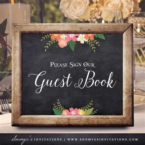 Chalkboard Wedding Signs, Wedding Welcome Sign, Printable