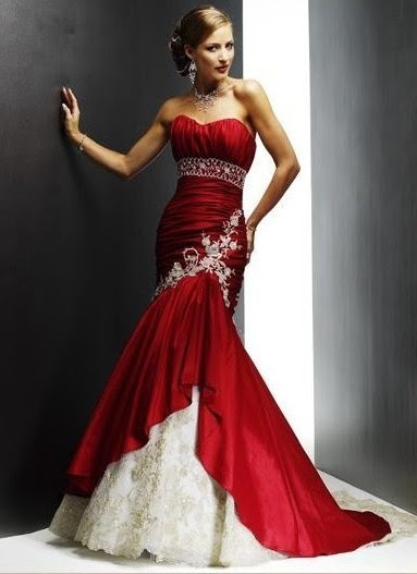 Red evening dresses size 22