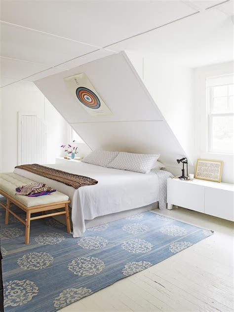 decorating ideas  room  sloped ceilings  wall decal
