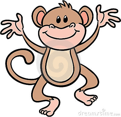 monkey clip art semblance