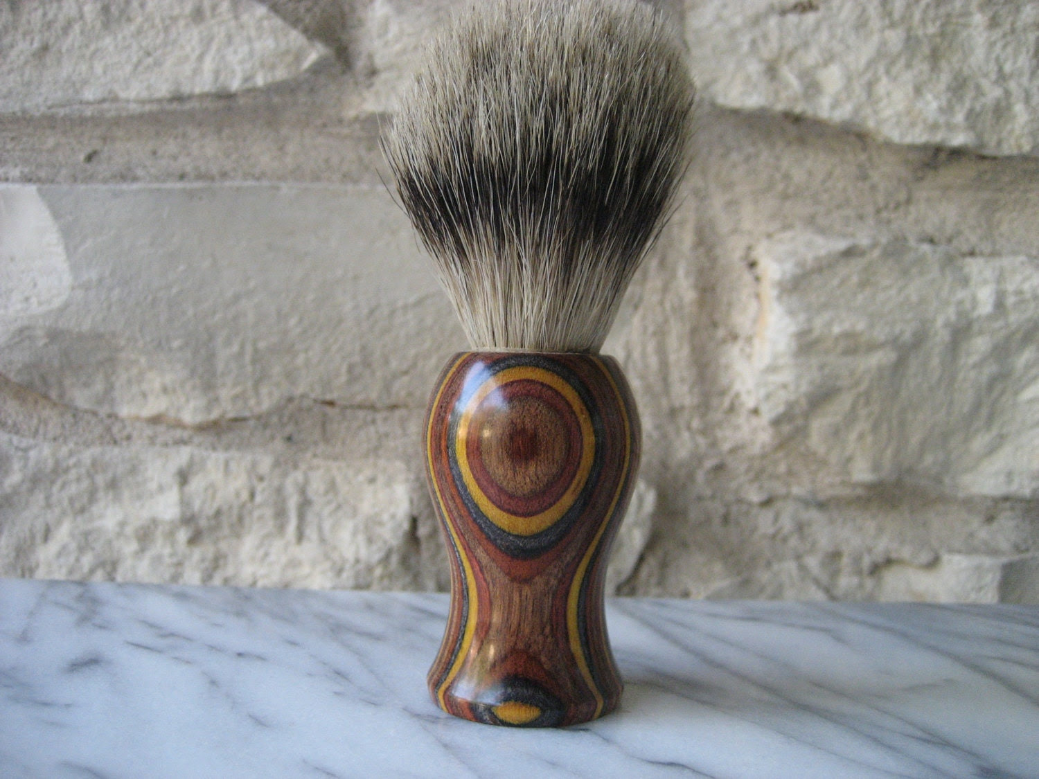 Men's Shaving Brush (Silvertip Badger) - Craftiness