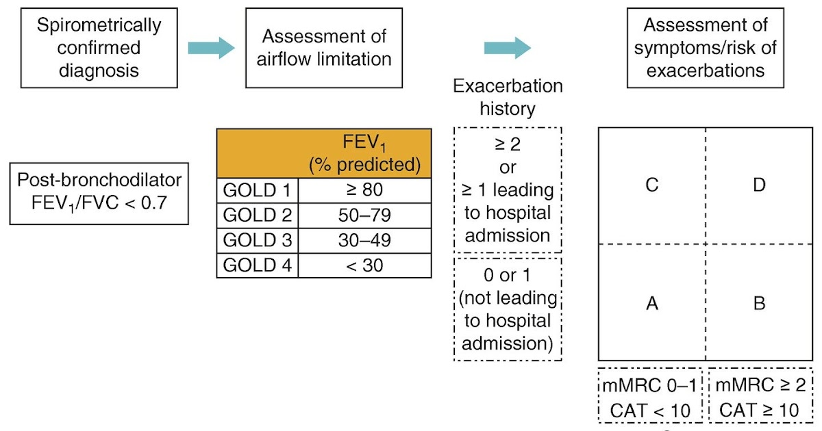 copd exacerbation treatment guidelines perokok o