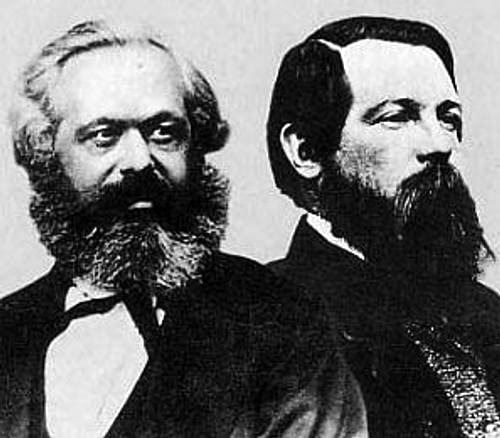 Image result for karl marx and friedrich engels