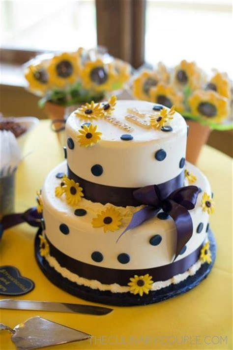 Pretty sunflower themed bridal shower.   PARTY IDEAS