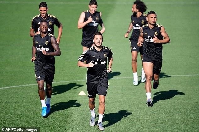 Eden Hazard will make La Liga debut against Villarreal', Real Madrid 'hopeful