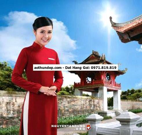 áo dài vietnam airlines cũ
