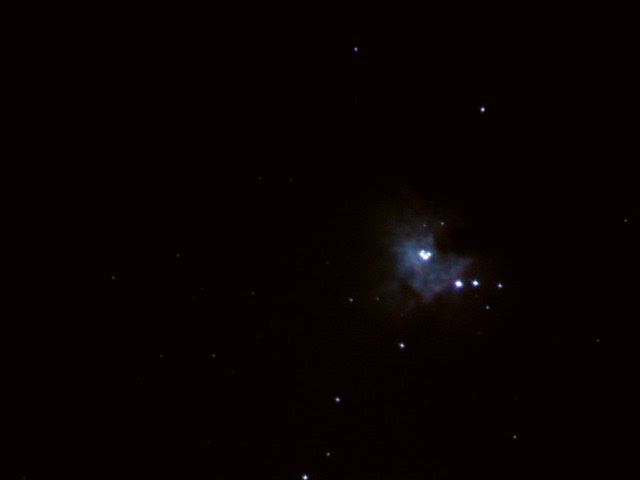 Orion Nebula, taken with SkyWatcher Explorer 200