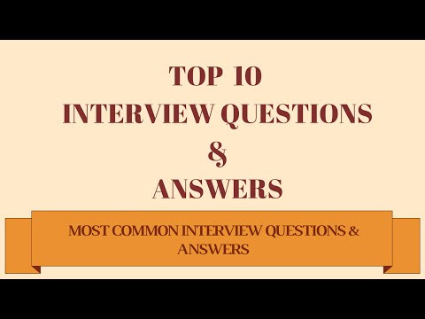 Job Interview Questions & Answers - Best Answer for ...