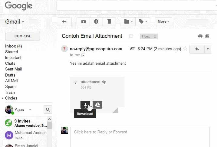 87 Gambar Attachment Email
