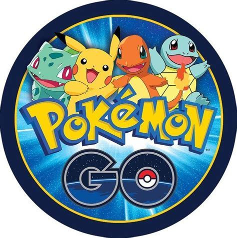 Pokemon Go Round Edible Cake Image ? Build a Birthday