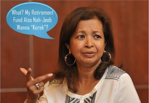 Marina Mahathir - Najib Razak Korek EPF Retirement Fund