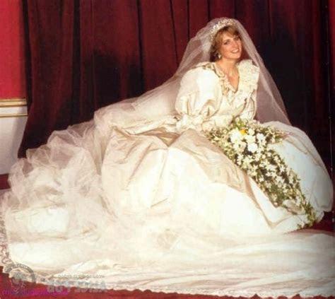 Princess Diana's wedding dress designed by Elizabeth and