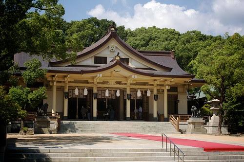 Minatogawa main shrine