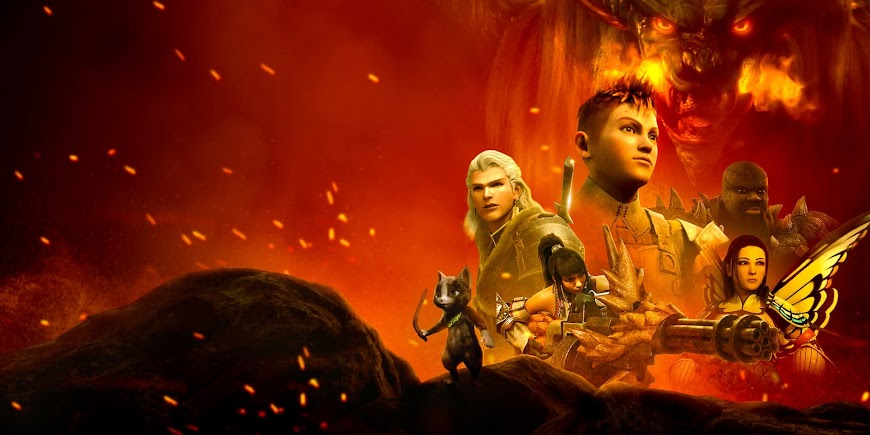 Monster Hunter: Legends of the Guild (2021) Movie English Full Movie Watch Online Free