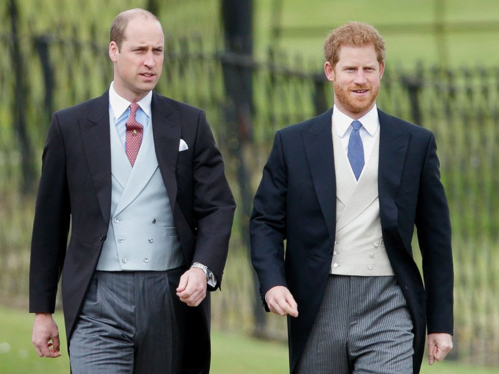 Image result for prince harry and prince william