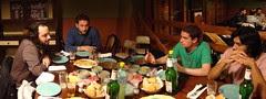Cerveza, queso, fiambre y discusión