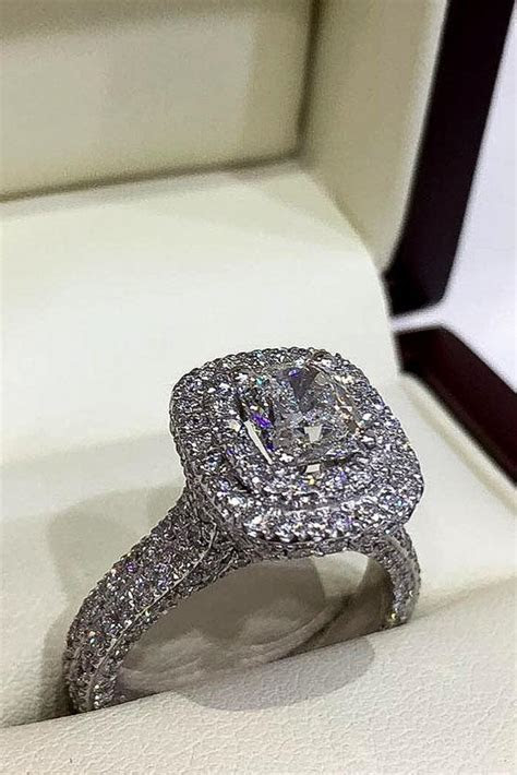 42 Cushion Cut Engagement Rings Which Give A Super Shine