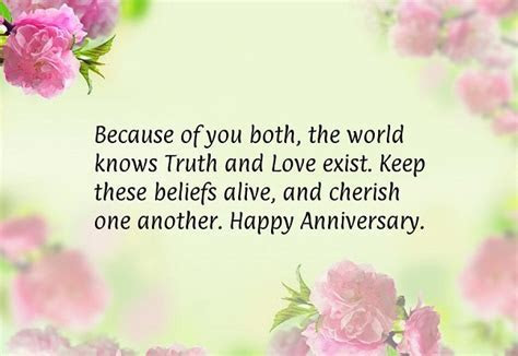ANNIVERSARY QUOTES FOR PARENTS FROM SON image quotes at